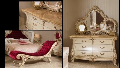 Lüks Söke Klasik Yatak Odası - Thumbnail