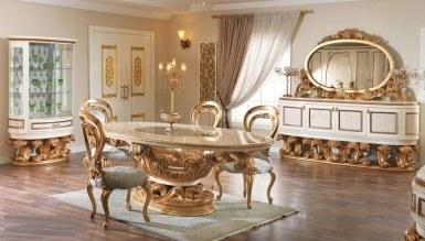 770 - Lüks Sorguç Klasik Yemek Odası