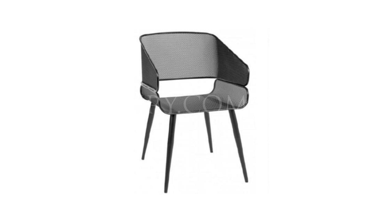 Lüks Stabil Metal Ayaklı Sandalye