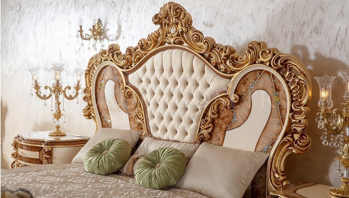 Lüks Sultan Klasik Yatak Odası