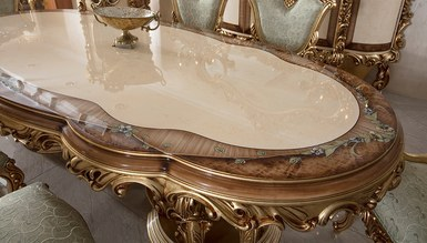 Lüks Sultan Klasik Yemek Odası - Thumbnail