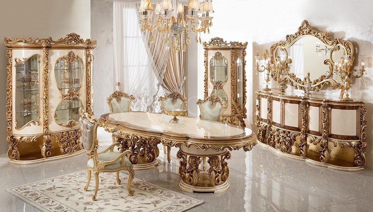 Lüks Sultan Klasik Yemek Odası
