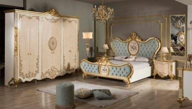 792 - Lüks Tac Mahal Klasik Yatak Odası