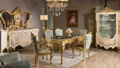 792 - Lüks Tac Mahal Klasik Yemek Odası