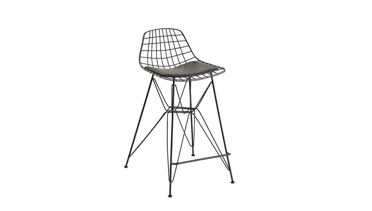 Lüks Tal Piramit Ayaklı Mutfak Sandalyesi