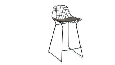 920 - Lüks Tal U Ayaklı Sandalye