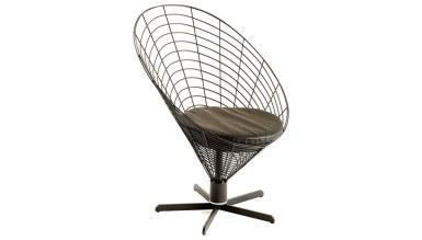 920 - Lüks Tavuz Yuvarlak Sandalye