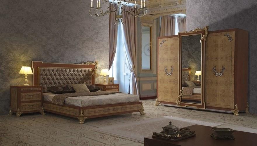 Lüks Tino Klasik Yatak Odası - Thumbnail