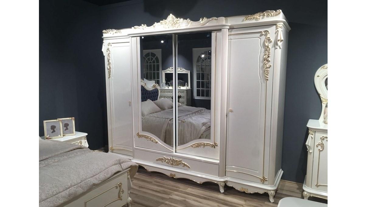 Lüks Tissa Klasik Yatak Odası