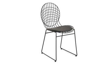920 - Lüks Tolunay Metal Ayaklı Sandalye
