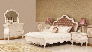 742 - Lüks Tunder Klasik Yatak Odası