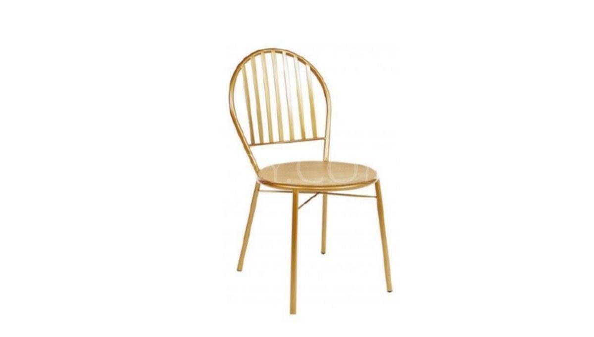 Lüks Uluç Metal Ayaklı Sandalye