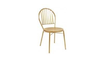 1009 - Lüks Uluç Metal Ayaklı Sandalye