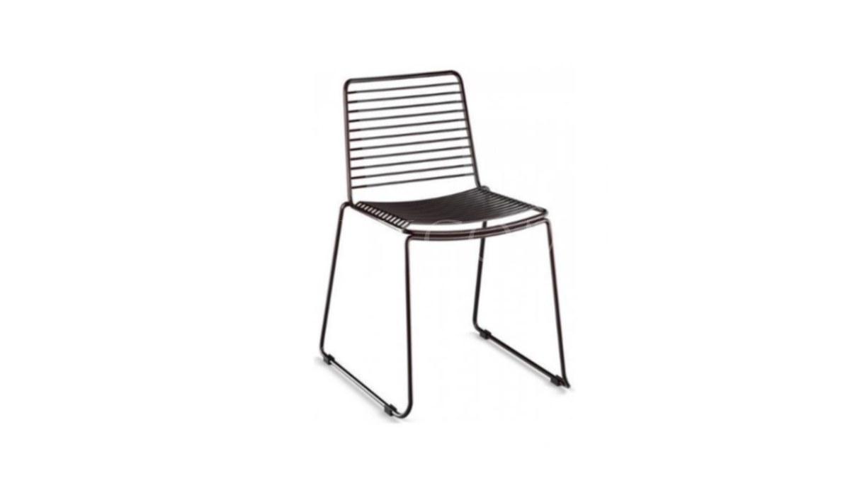 Lüks Uyak Metal Ayaklı Sandalye