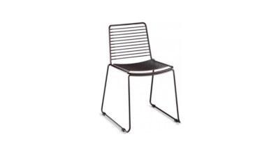 1009 - Lüks Uyak Metal Ayaklı Sandalye