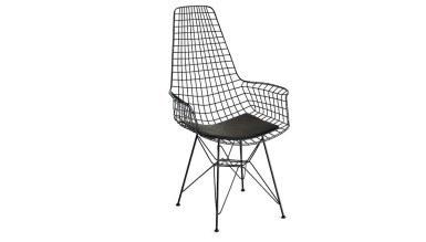 920 - Lüks Uzun Zara Piramit Ayaklı Sandalye