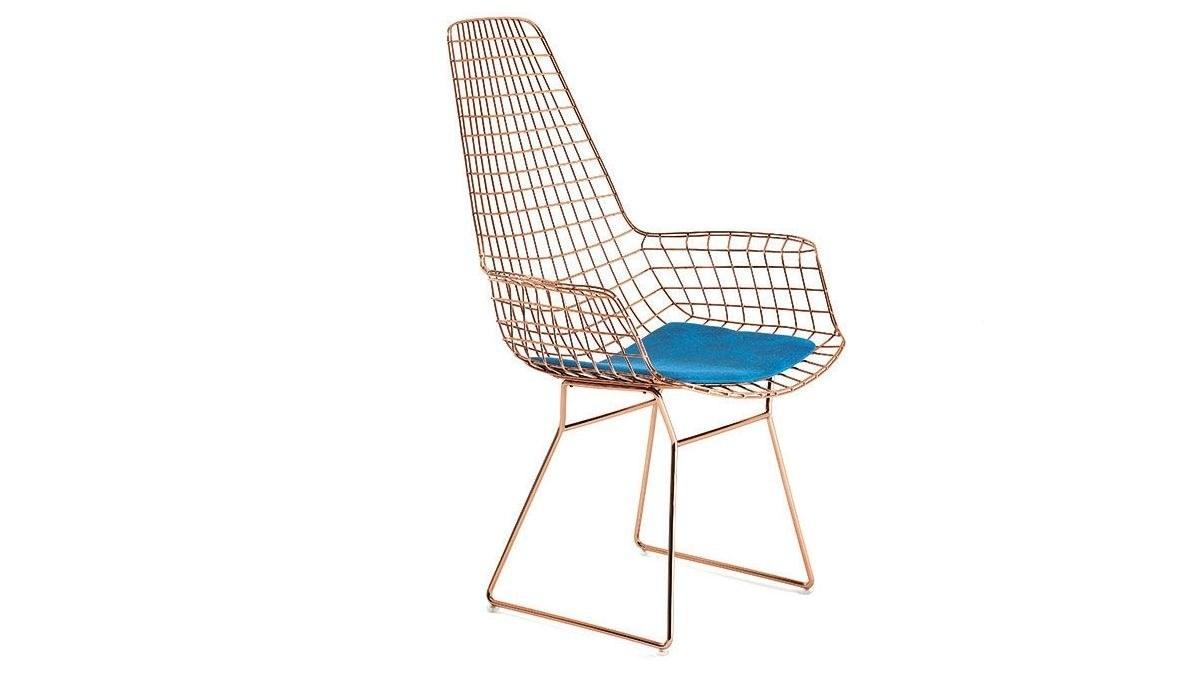 Lüks Uzun Zara U Ayaklı Sandalye
