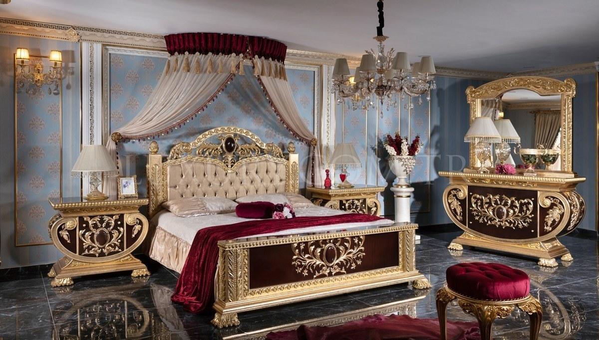 Lüks Vanera Klasik Yatak Odası