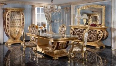 Lüks Vanera Klasik Yemek Odası - Thumbnail