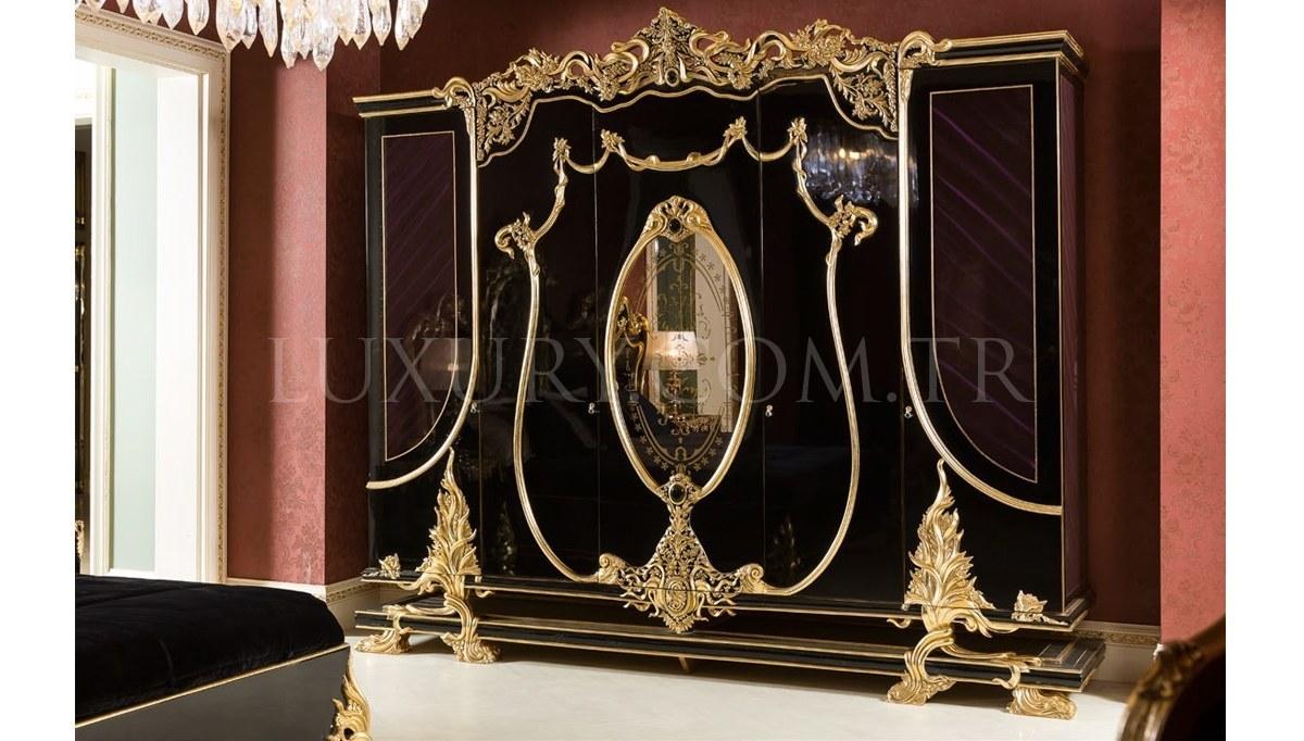 Lüks Vantes Klasik Yatak Odası