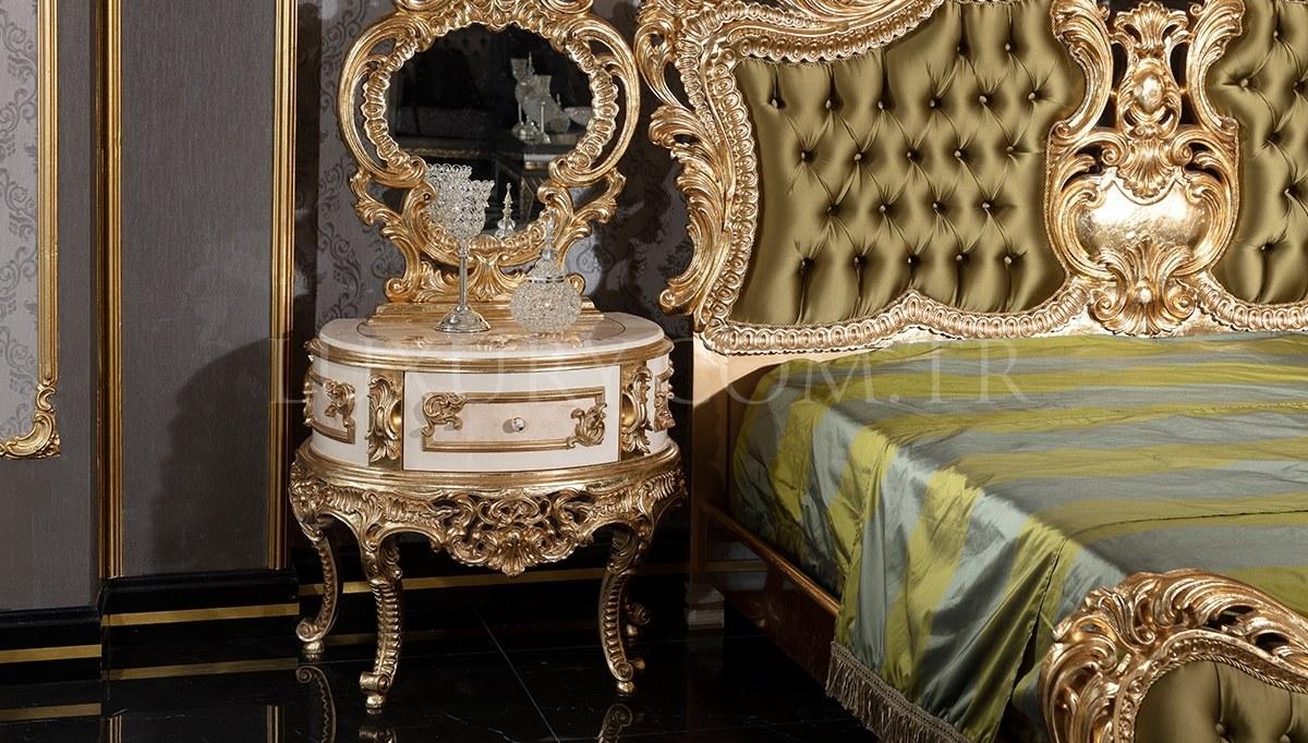 Lüks Veliaht Klasik Yatak Odası