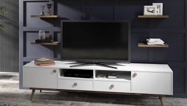 801 - Lüks Velonte Beyaz TV Ünitesi