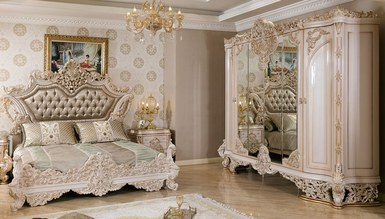Lüks Venora Klasik Yatak Odası - Thumbnail