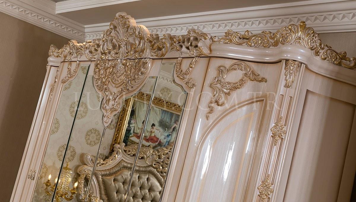Lüks Venora Klasik Yatak Odası