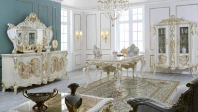 411 - Lüks Veyrona Klasik Yemek Odası