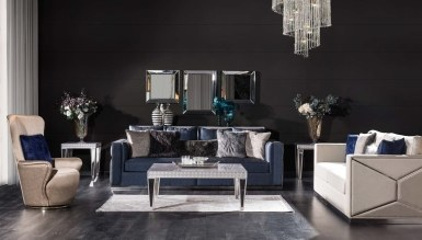 931 - Lüks Viamonte Art Deco Koltuk Takımı