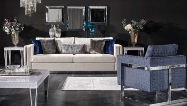 Lüks Viamonte Art Deco Koltuk Takımı - Thumbnail