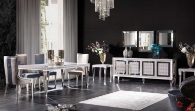 Lüks Viamonte Art Deco غرفة الطعام
