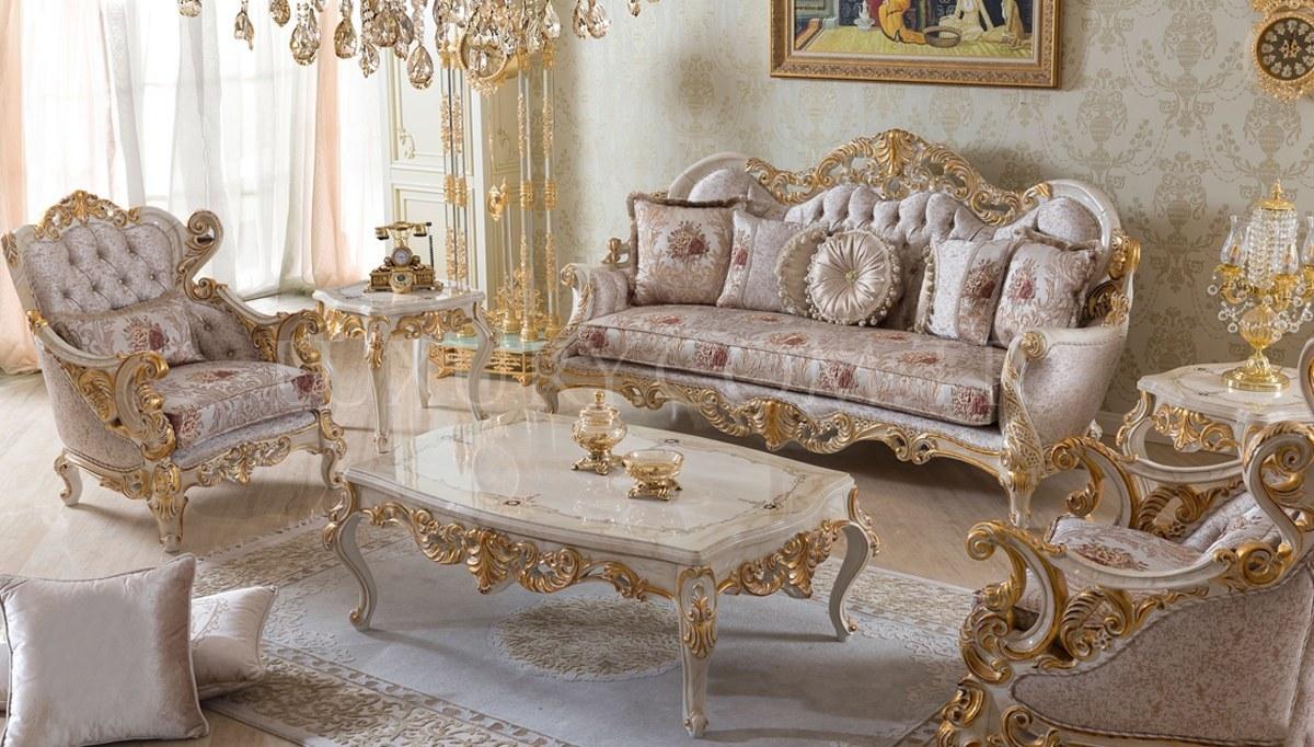 Lüks Villa Klasik Koltuk Takımı