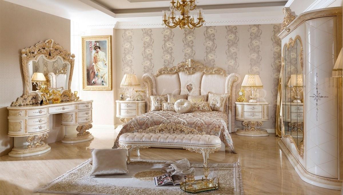 Lüks Villa Klasik Yatak Odası