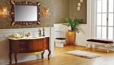 Lüks Vinera Klasik Banyo Takımı