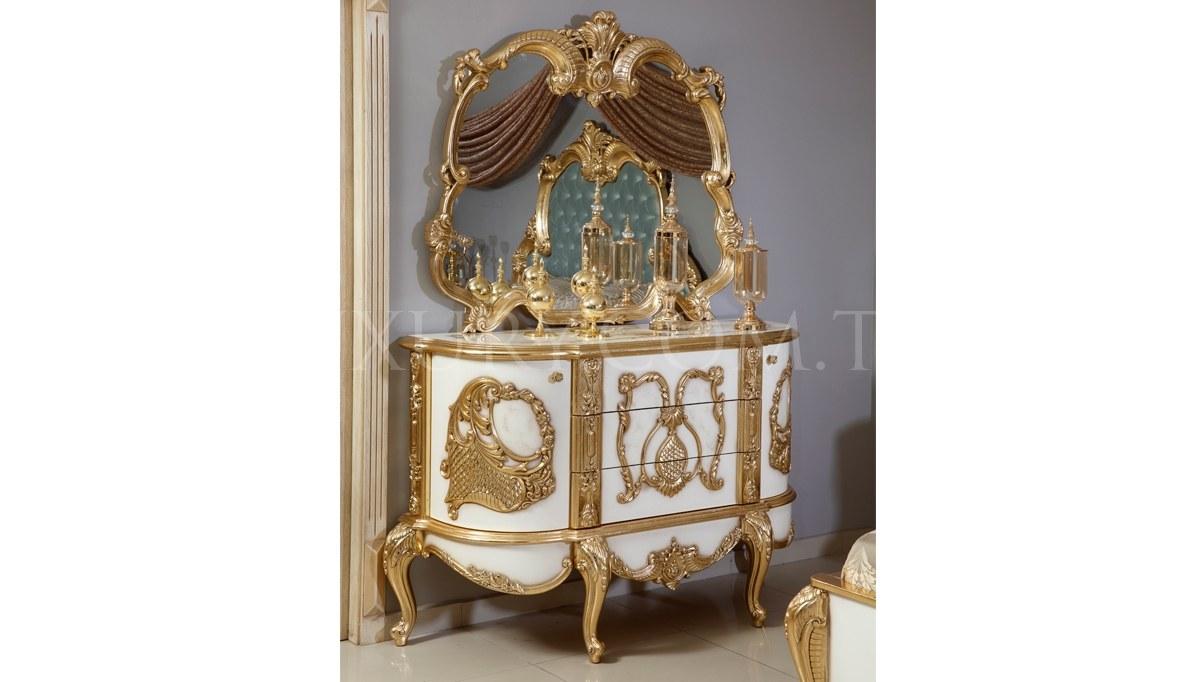 Lüks Vinesa Klasik Yatak Odası