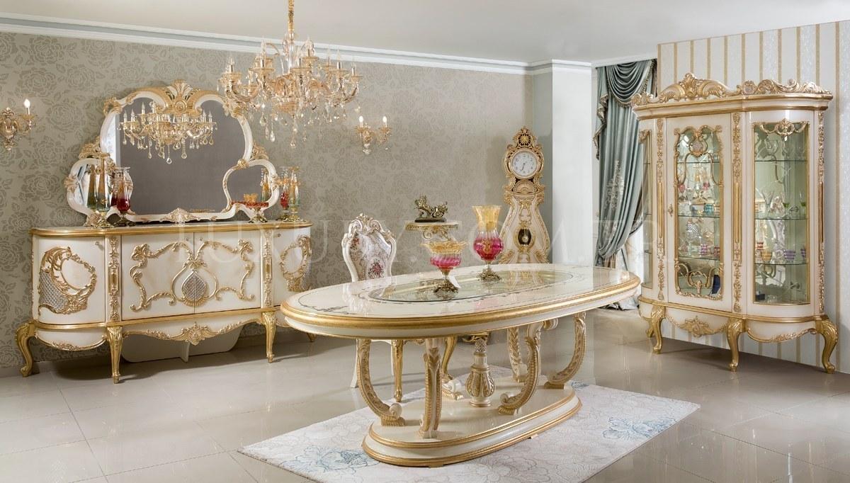 Lüks Vinesa Klasik Yemek Odası