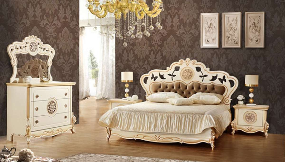Lüks Vintore Klasik Yatak Odası