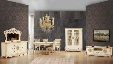 817 - Lüks Vintore Klasik Yemek Odası