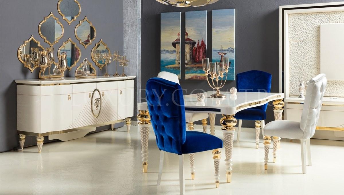 Lüks Virena Luxury Yemek Odası