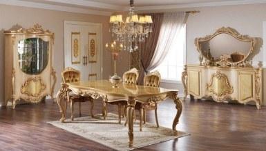770 - Lüks Visal Altın Yemek Odası