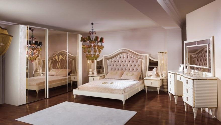 Lüks Visena Klasik Yatak Odası - Thumbnail