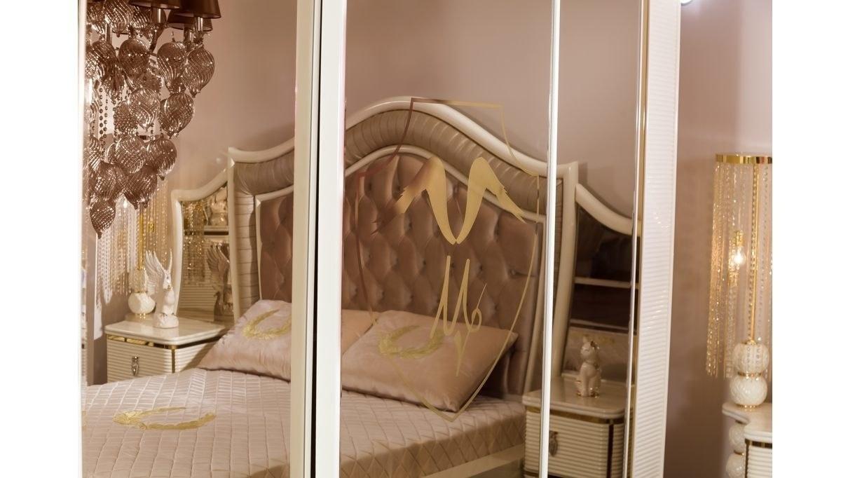 Lüks Visena Klasik Yatak Odası