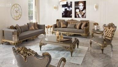 525 - Lüks Vistera Art Deco Koltuk Takımı