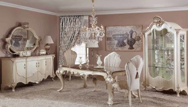 623 - Lüks Vivian Klasik Yemek Odası