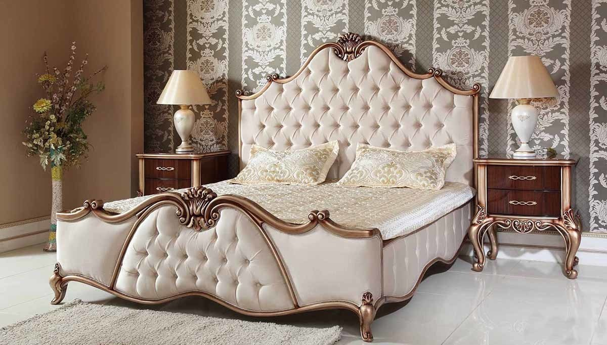 Lüks Vivoz Klasik Yatak Odası