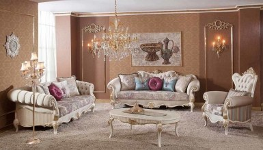 Lüks Volera Klasik غرفة الجلوس