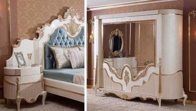 Lüks Volera Klasik Yatak Odası - Thumbnail