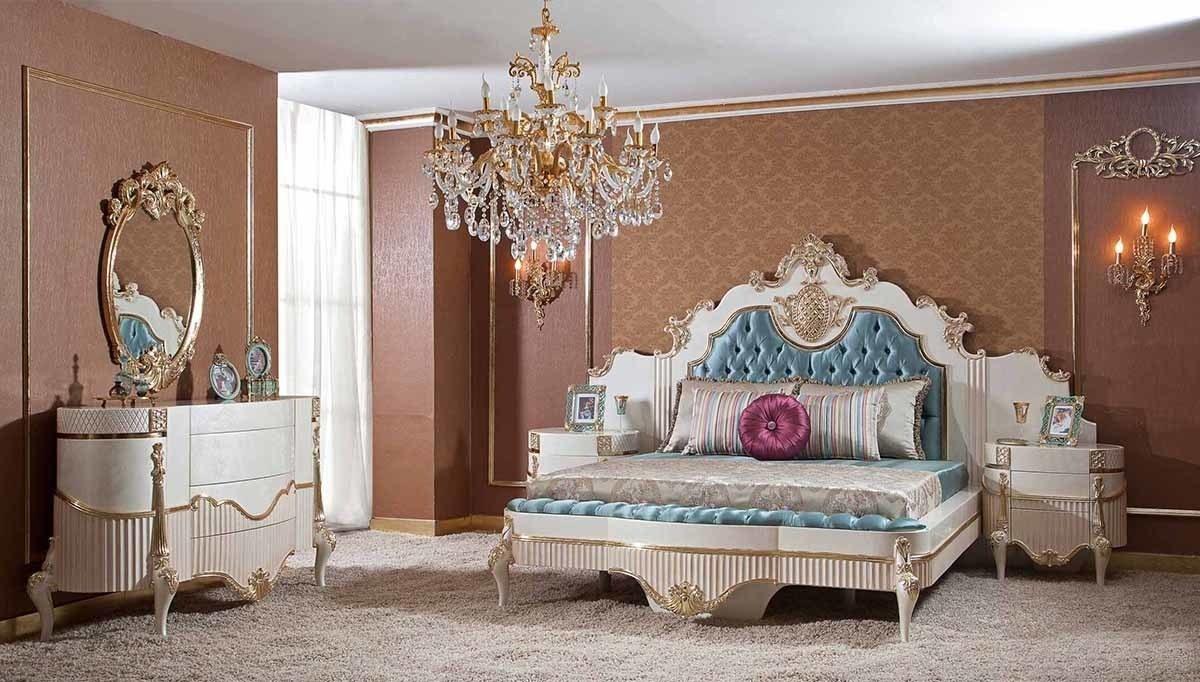 Lüks Volera Klasik Yatak Odası