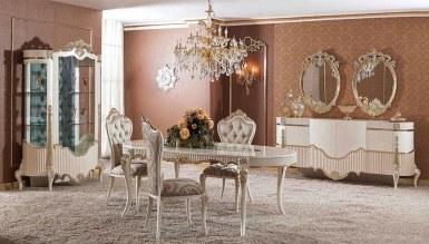 Lüks Volera Klasik Yemek Odası - Thumbnail